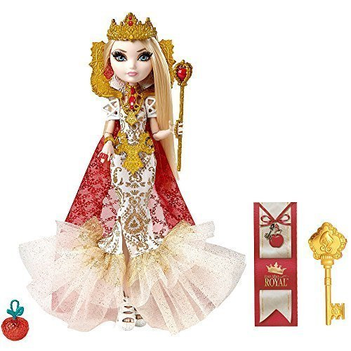 Ever After High Mirror Beach Apple White Replacement Shoes Heels Gold