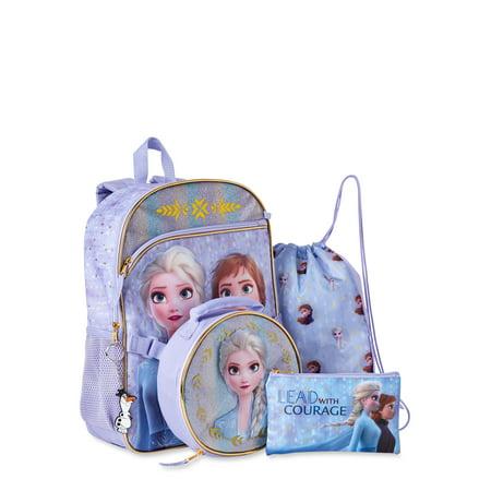 Frozen 5 Piece Backpack Set