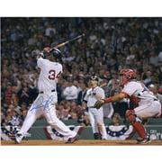 "David Ortiz Boston Red Sox Autographed 16"" x 20"" ALDS Swing Photograph - Fanatics Authentic Certified"