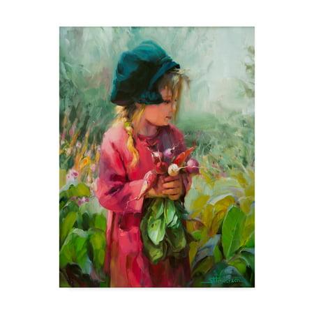 Red Eden Art - Trademark Fine Art 'Child Of Eden' Canvas Art by Steve Henderson