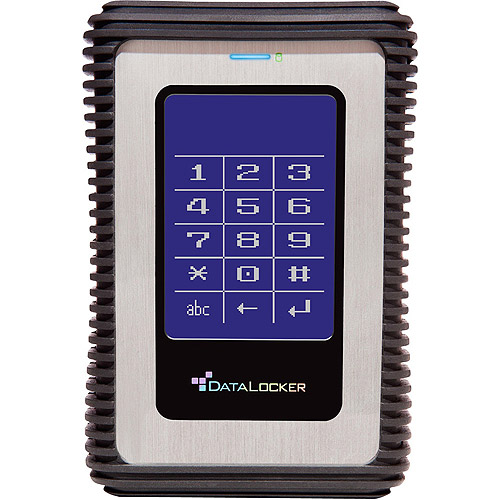 DataLocker DL3 500GB USB 3.0 Portable Hard Drive with RFID Encryption
