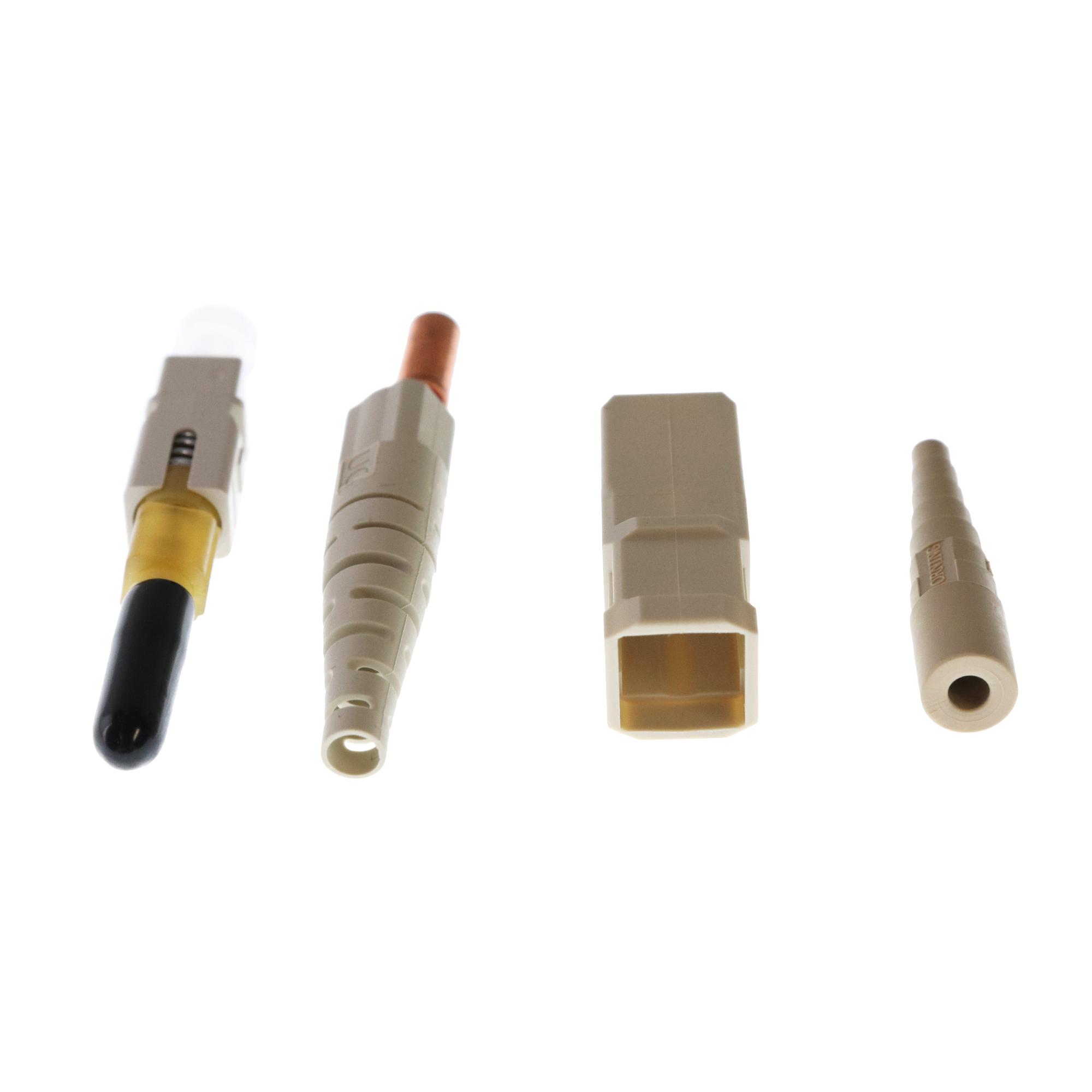 Ceramic Ferrule 95-000-40 Corning Unicam SC OM1 Multimode 62.5 Standard Performance Pretium Fiber Optic Connector