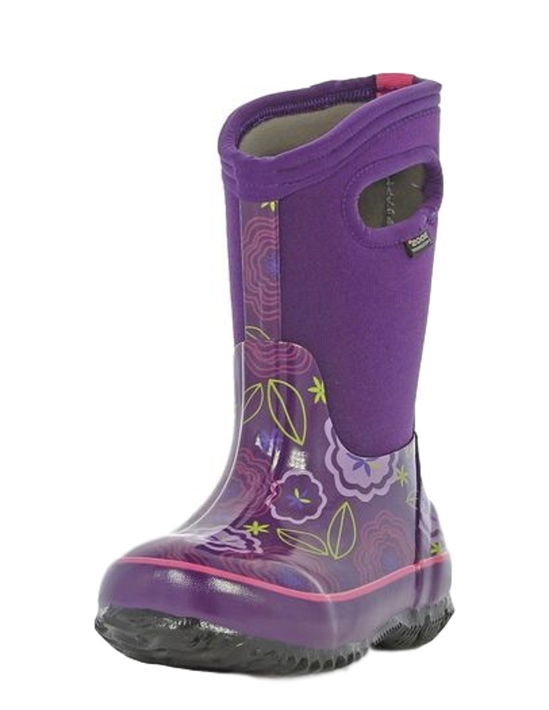 Bogs Boots Girls Kids Classic Posey Pull On Waterproof 71994 by Bogs