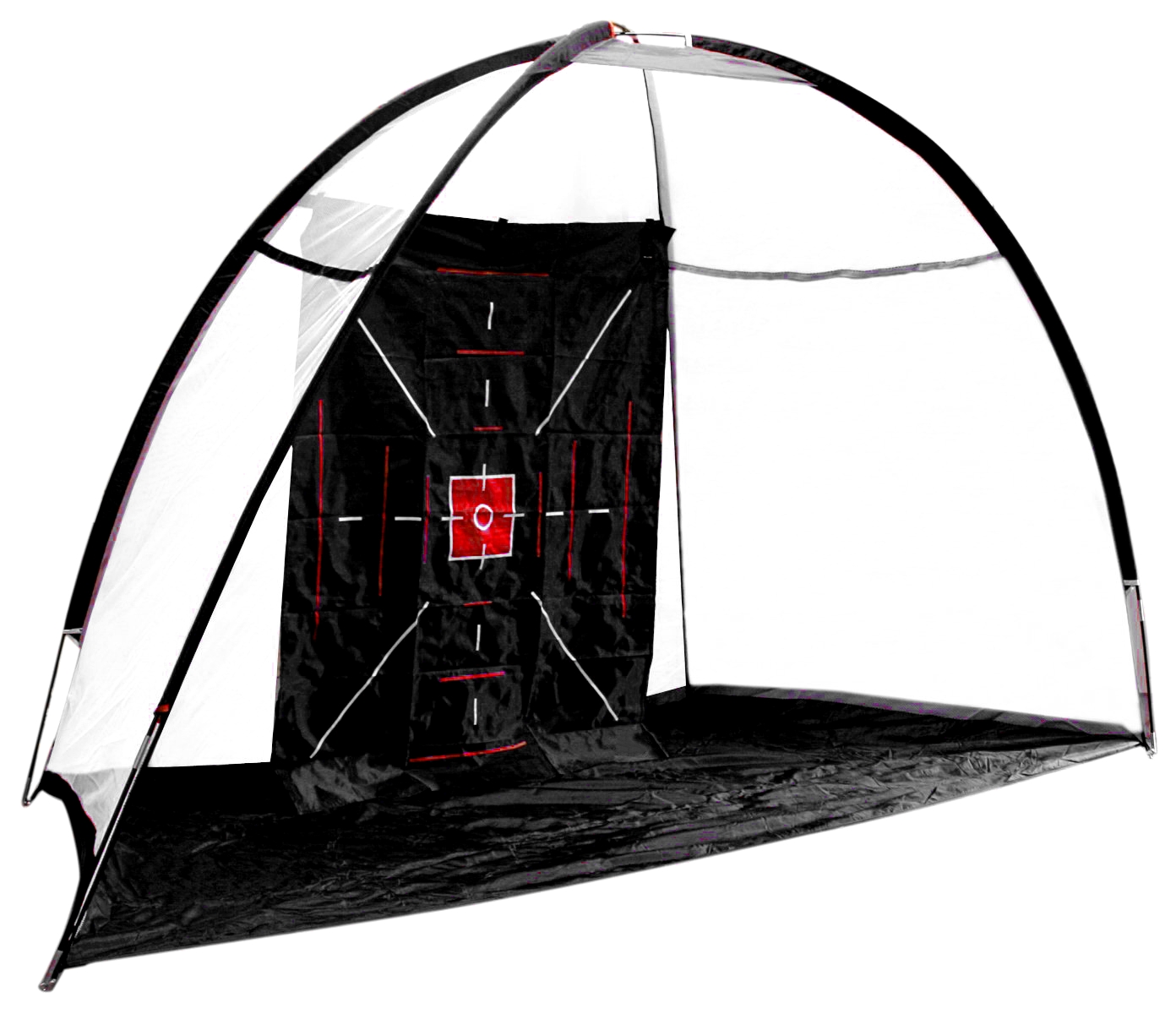 Golf Practice Cage Indoor Outdoor Hitting Net Backstop by ProActive Sports