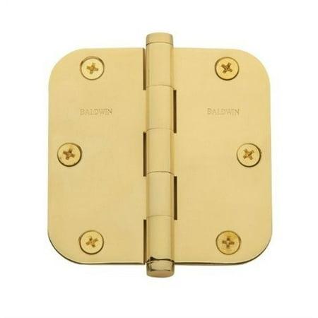 Baldwin  1135.I  Plain Bearing  Mortise Hinge  Door Hinge  3 1/2 x 3 1/2  ;Satin Brass