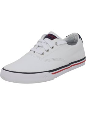 Sperry Striper Ii White Ankle-High Canvas Fashion Sneaker - 2.5M