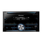 pioneer fh-s500bt double din radio install kit with cd player bluetooth  fits 2009-