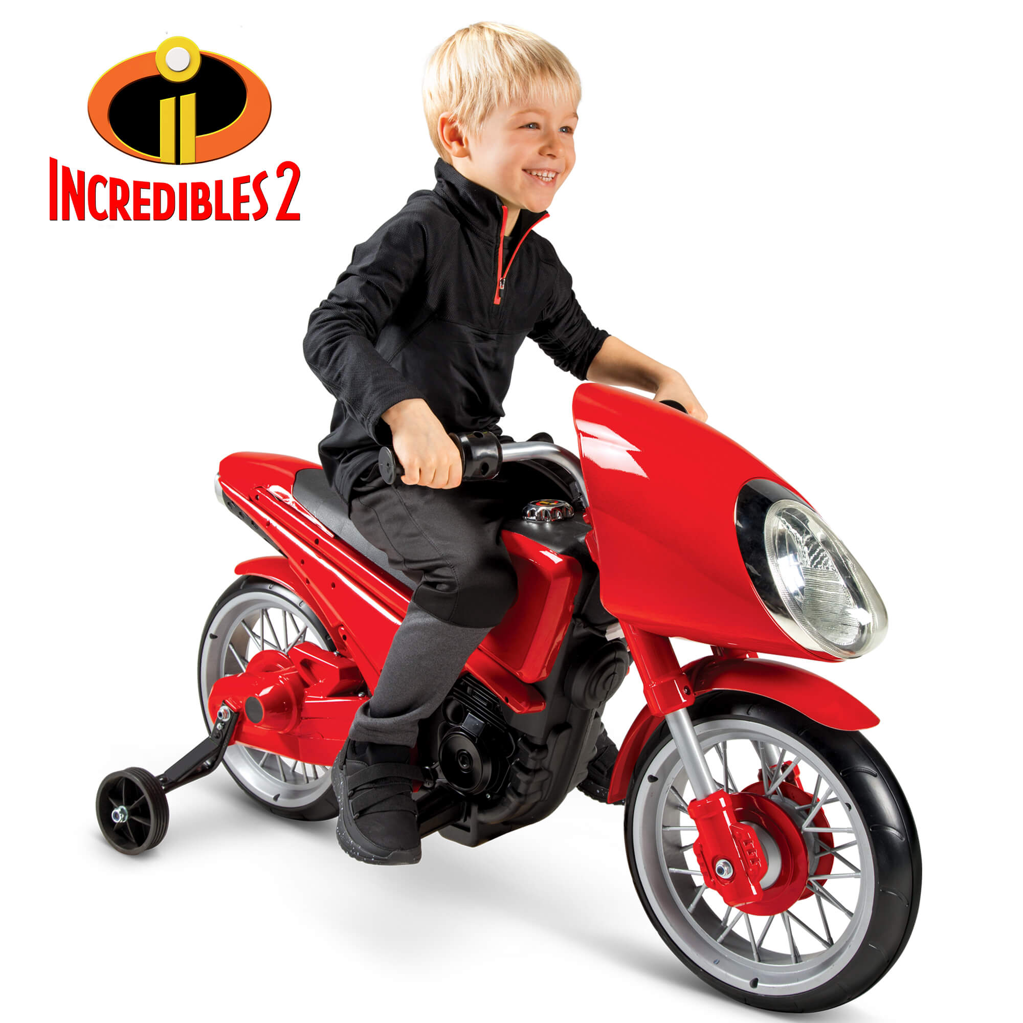 Disney / Pixar Incredibles 2 Elasticycle 6-volt Battery-Powered Ride-On by Huffy