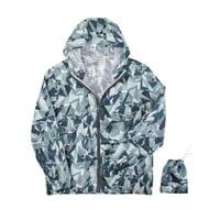 4e6b66e00e Product Image SAYFUT Ultra Lightweight Packable Jackets Waterproof  Windbreaker Hooded Raincoat Jacket Yoga Running Fitness Outdoor Sports Coat