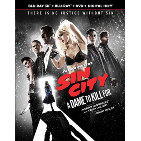 Sin City: A Dame to Kill For (Blu-ray)
