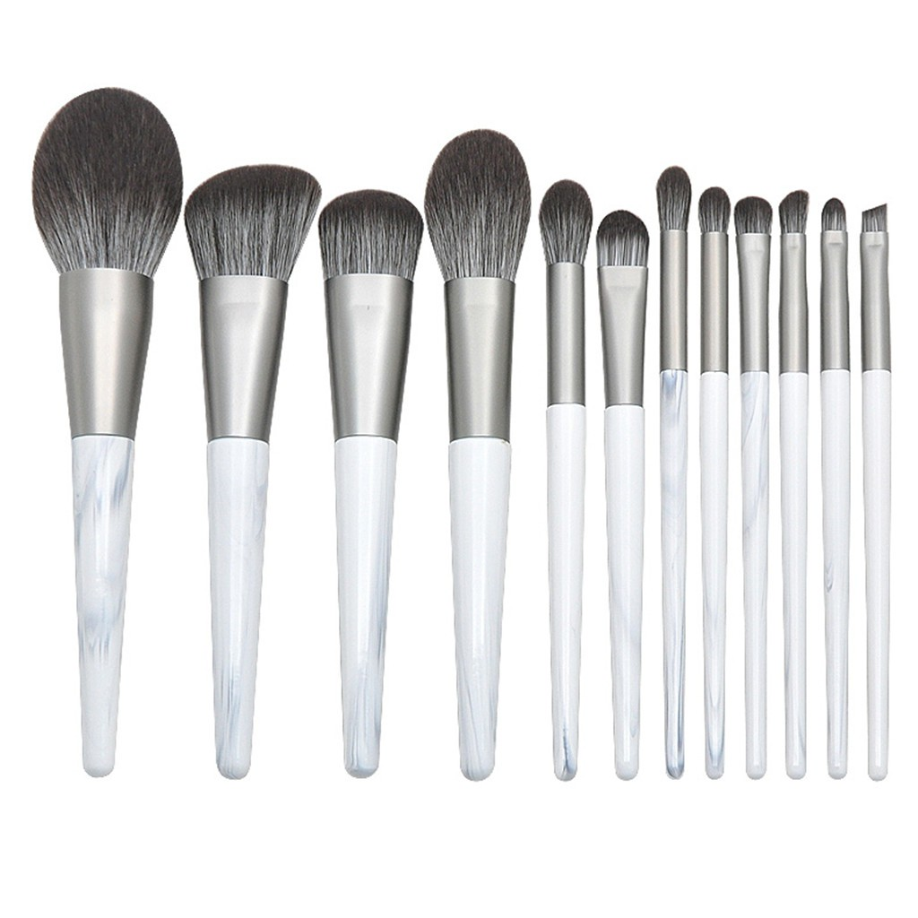 Pinkpaopao Makeup Brush Set With 12 Pcs