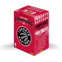 Toronto Raptors 2019 NBA Finals Champions Panini 30 Card Team Set