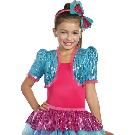 Dance Craze Bolero Turq Child Halloween Accessory