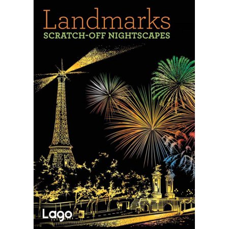 Landmarks  Scratch Off Nightscapes