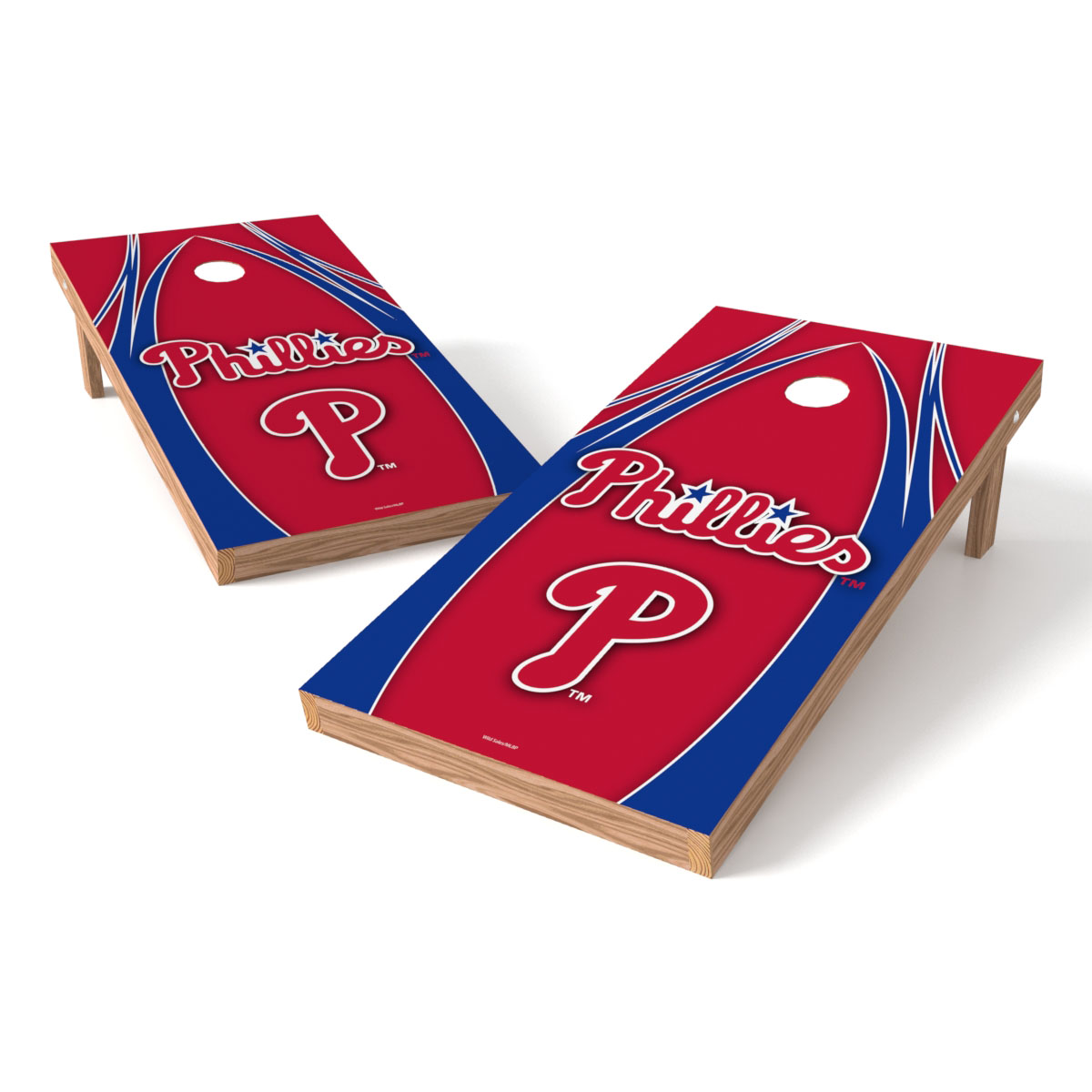 TTXL Shield V Logo MLB Philadelphia Phillies Bean Bag Toss Game