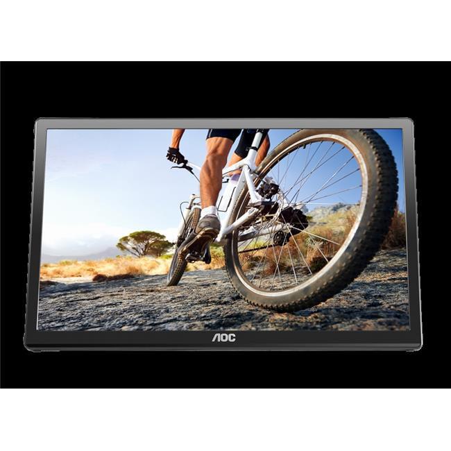 Aoc Monitors E1759FWU USB Powered LCD Monitor, 17 in.