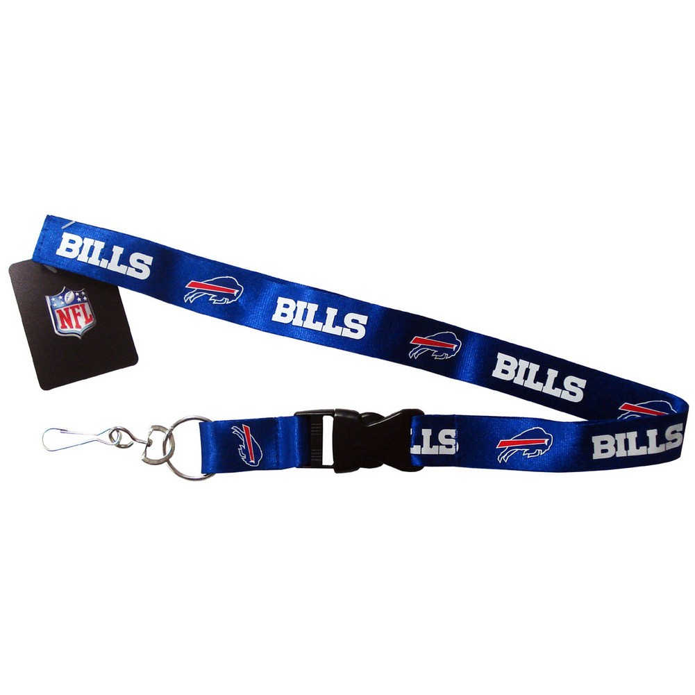 Buffalo Bills Breakaway Lanyard with Key Ring