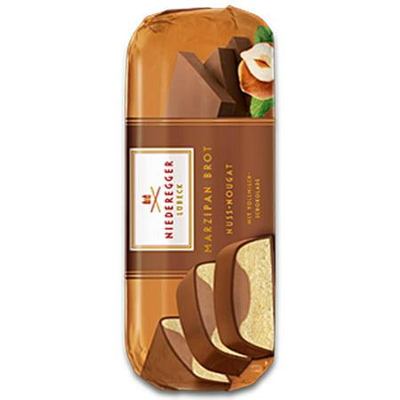 Niederegger Filled Marzipan Loaf - Nougat Mousse - 75g/2.6 oz