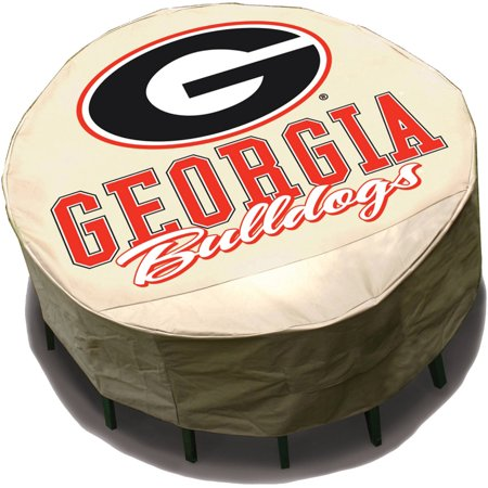 NCAA Mr. Bar-B-Q Round Table Cover, University of Georgia Bulldogs