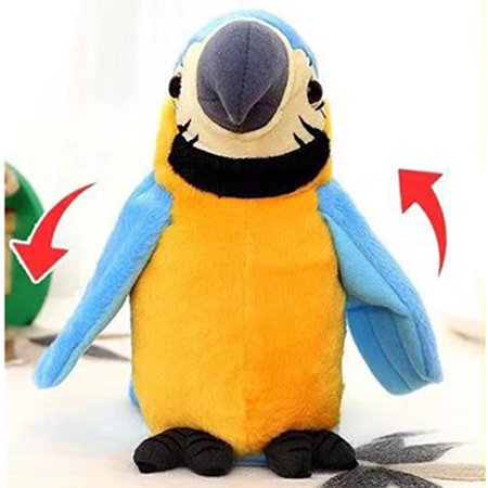Repeat The Parrot Dancing Toy Figure Electric Plush Kids Talking Speaking Bird Pajaro](My Talking Tom Halloween)