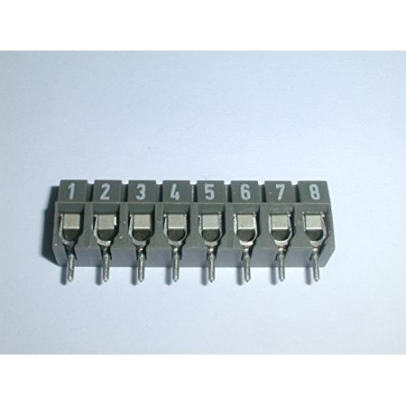 25 104 0853 8 PIN TERMINAL BLOCK ( 1 EACH) - 25 104 0853