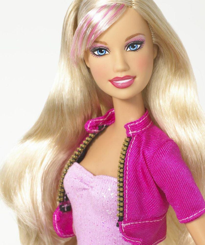 Mattel Barbie Totally Nails Doll Set Color Change Dolls Nails