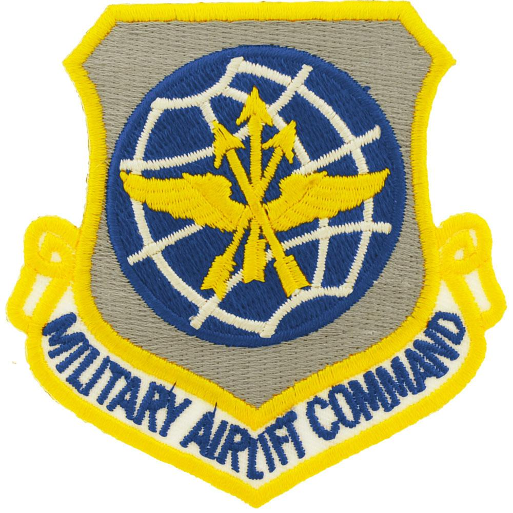 """U.S. Air Force Military Airlift Command Patch 3"""""""