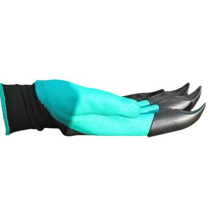 Garden Gloves Fingertips Claws Planting Gloves Quick Easy to Dig and Plant Safe Gloves Full Finger Mittens Digging Gloves - image 1 de 6