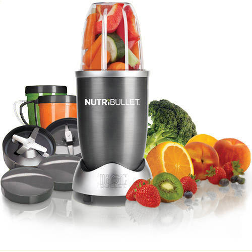 Magic Bullet NutriBullet Nutrition Extraction 12-Piece Mixer/Blender, As Seen on TV