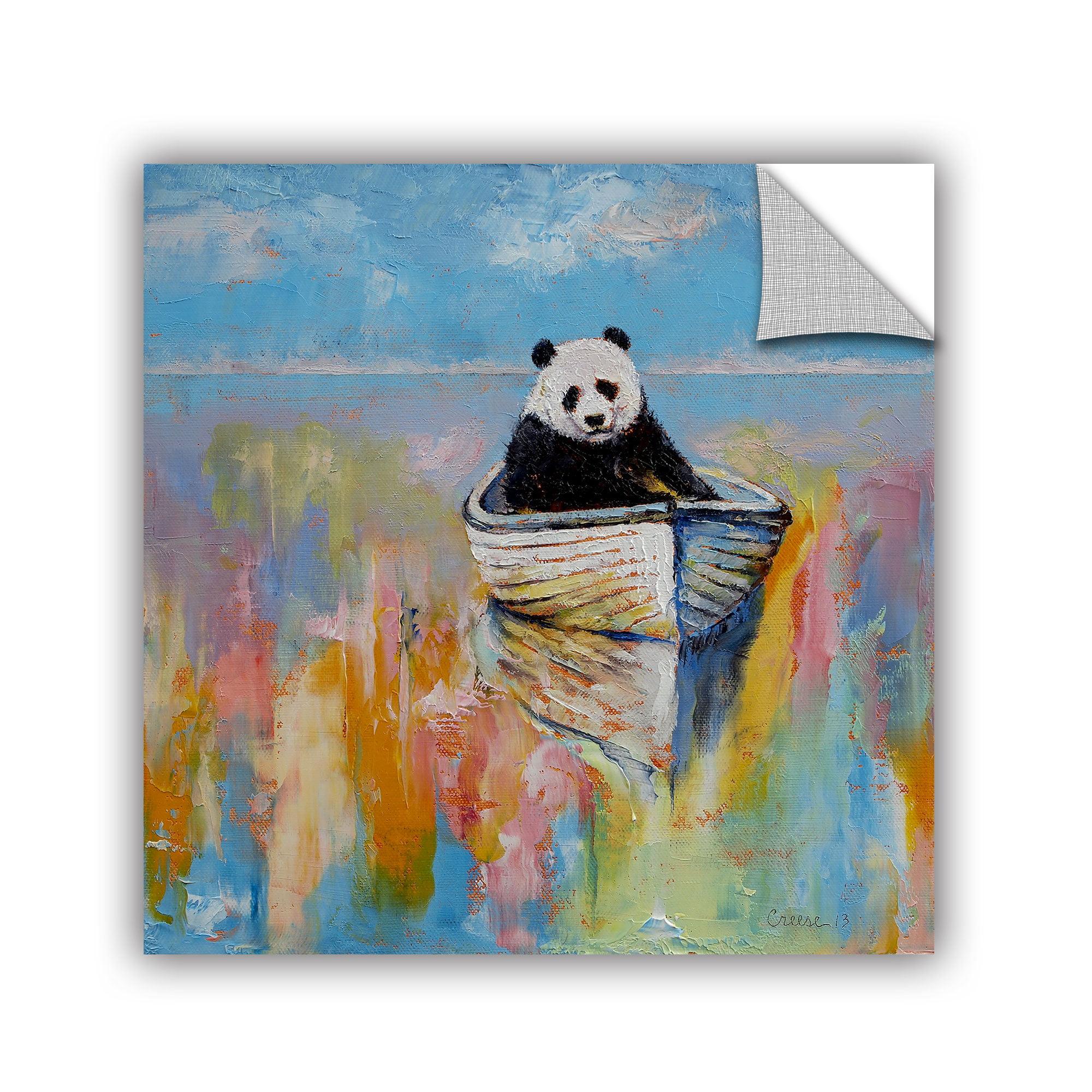 'Panda' Removable Wall Art Mural