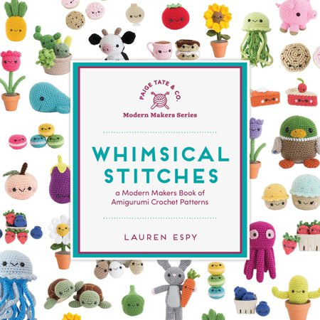 Whimsical Stitches : A Modern Makers Book of Amigurumi Crochet Patterns - Halloween Bunting Crochet Pattern