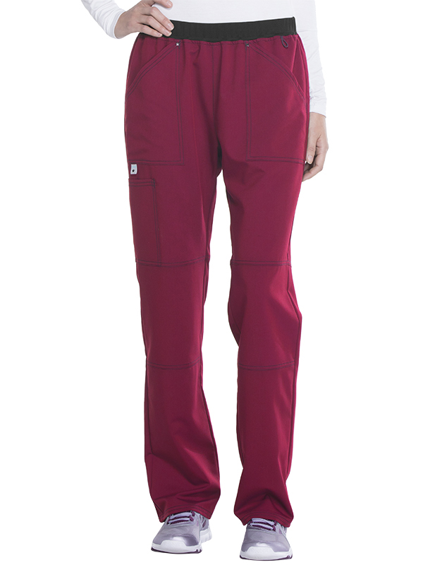 Scrubstar Women's Premium Collection Stretch Rayon Scub Pant with Mesh Waistband