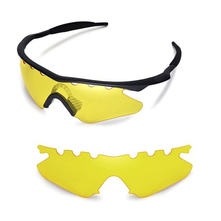 Walleva Yellow Vented Replacement Lenses For Oakley M Frame Heater ...