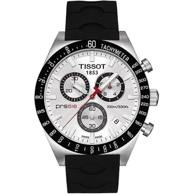 T0444172703100 Tissot Prs 516 Chronograph Rubber Mens Watch