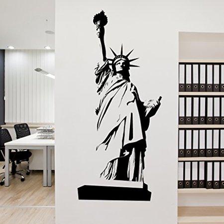Statue of Liberty Wall Decal Wall Sticker Vinyl Wall Art Home Decor Wa