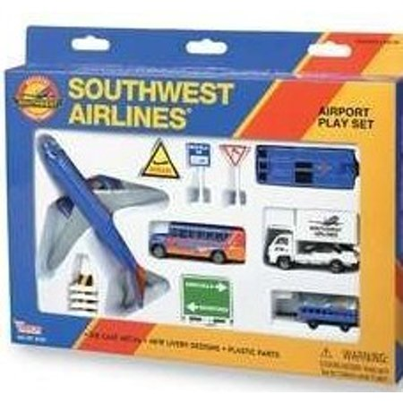 Southwest Airlines B737 Die Cast Playset (13pc