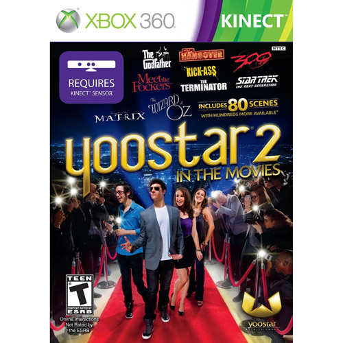 Yoostar 2 In The Movies (Xbox 360)