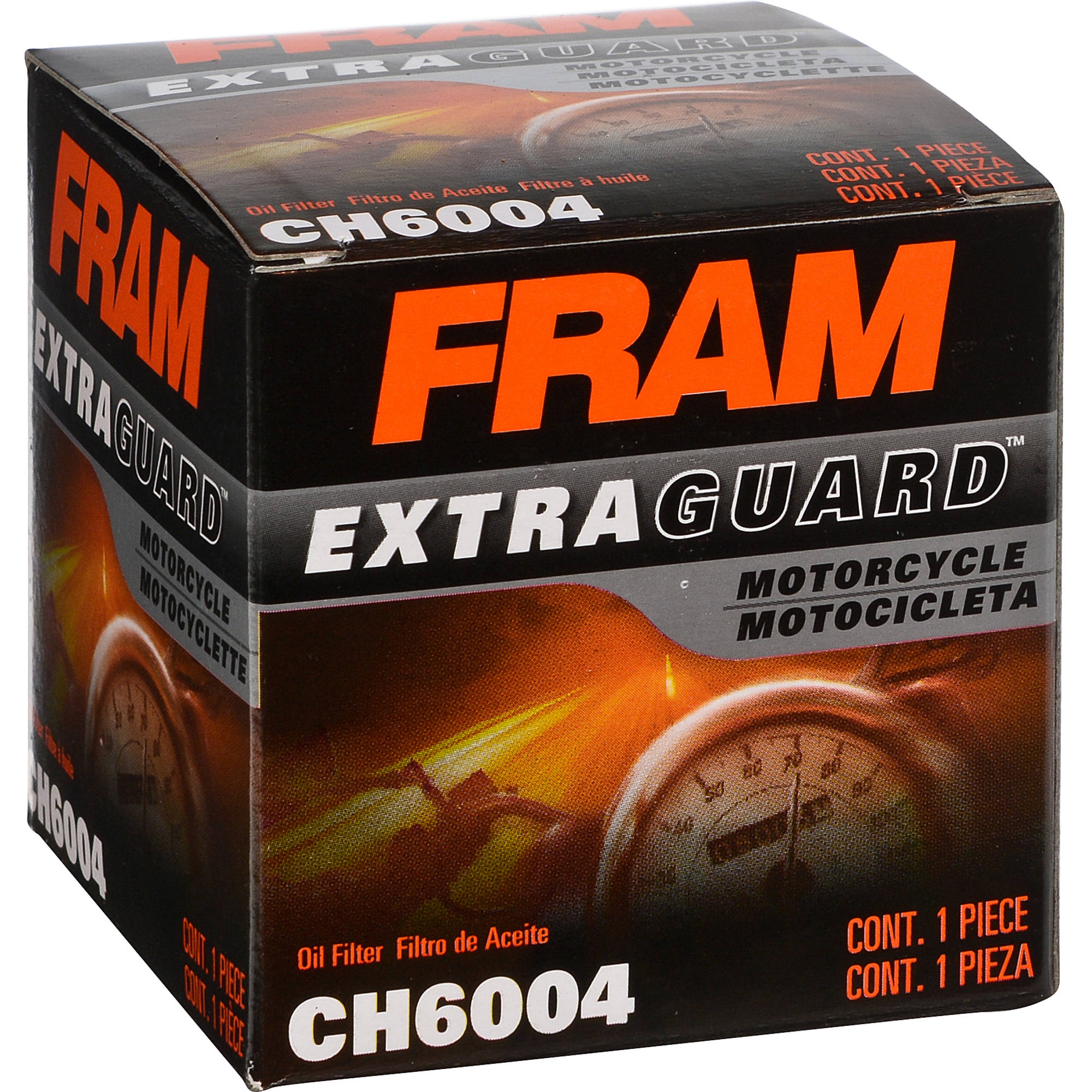 FRAM Motorcycle Oil Filter, CH6004