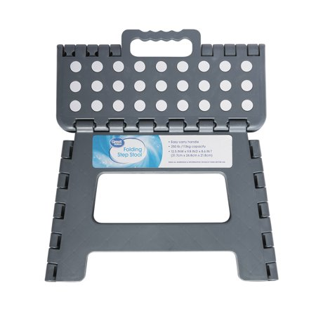 Great Value Folding Step (Plastic Folding Step Stool)