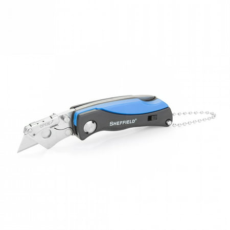 Sheffield Mini Quick Change Utility Folder 1.5 in Blade ABS Sheffield Folding Lockback Utility Knife