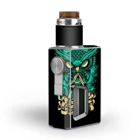 Skins Decals for GeekVape Athena Squonk Vape / Awesome Owl Evil