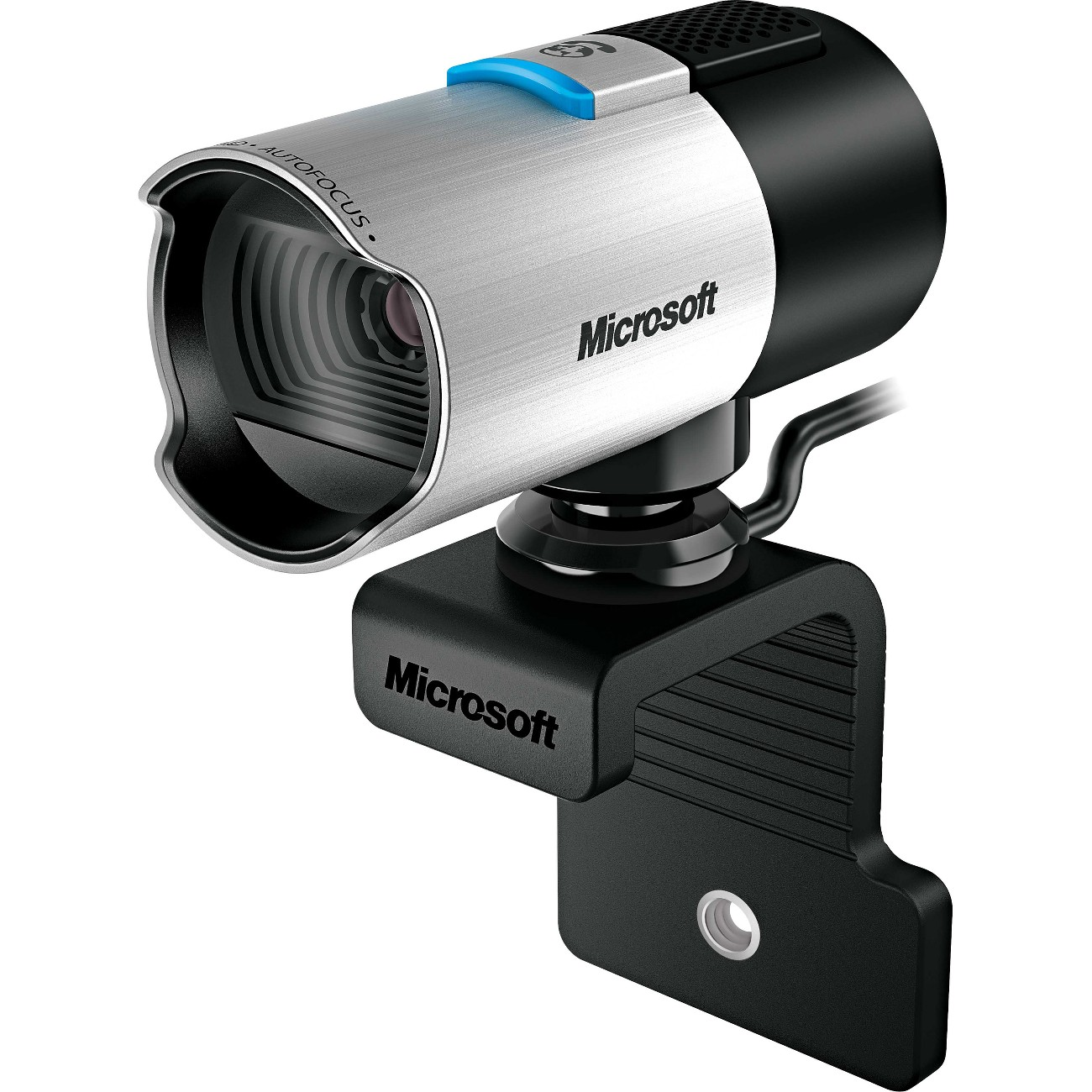 Microsoft Lifecam Studio Win 1080p HD Auto-focus USB Port Silver Q2F-00001