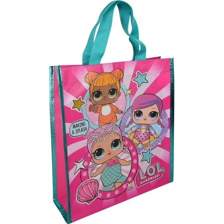 UPD LOL Surprise Medium Reuseable Shopping Tote Bag  Novelty Character Accessories - Novelty Purses