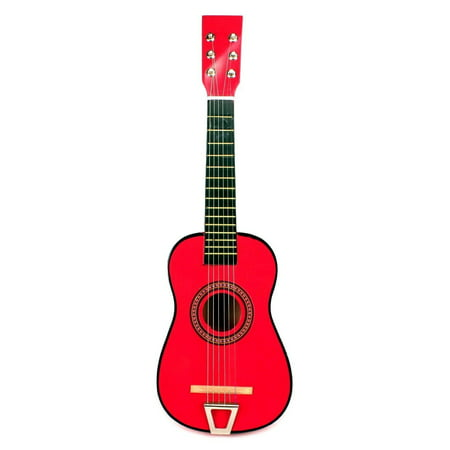 Acoustic Classic Rock 'N' Roll 6 Stringed Toy Guitar Musical Instrument w/ Guitar Pick, Extra Guitar String (M. Pink)](Halloween Musical Chairs Music)