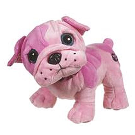 Planet Posh Trixie Pink Colored Dog Plush Toy - By Ganz