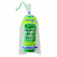 Pacon Trait-tex Heavy Rug Yarn, Holiday Green - 60 yards per pack, 6 packs