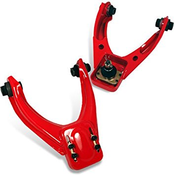 Civic Dx Lx Ex Manual - Spec-D Tuning CAM-CV96RD Honda Civic Lx Dx Ex Front Upper Red Camber Kit 2Pc