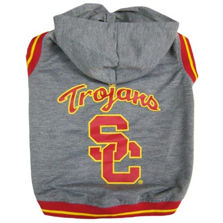 9acb87fcdc963c USC Trojans Pet Hoodie Sweatshirt - X-Small - Walmart.com
