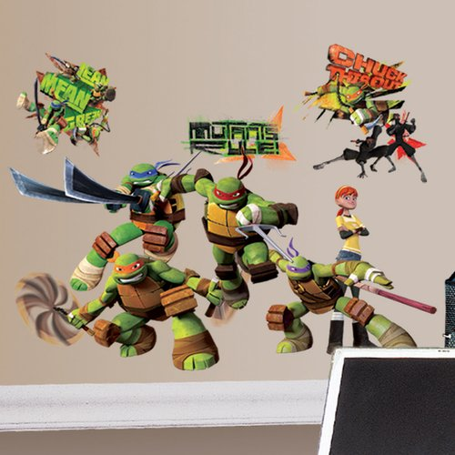 Wallhogs Teenage Mutant Ninja Turtles Wall Decal