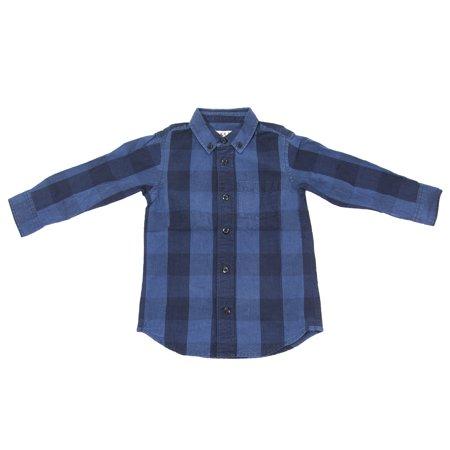Alex Mill Little Boys' Buffalo Check Shirt Sz 2 - Milled Buffalo
